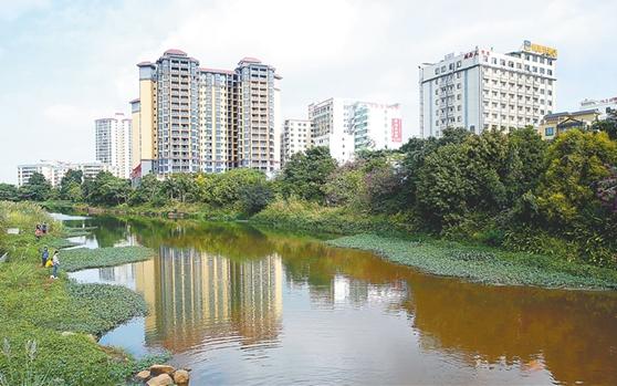 澄迈多措并举保护河流生态环境:又见河水清如许 岸绿景美人开怀